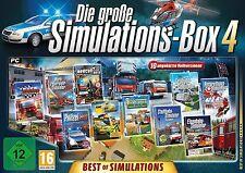 Die große Simulations-Box 4: Best of Simulations - PC Game - *NEU*