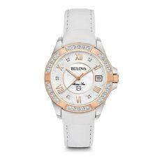 Bulova 98R233 Women's Marine Star Diamond Wristwatch