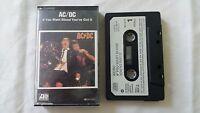 AC/DC If You Want Blood You've Got It Cassette Atlantic Records 1978