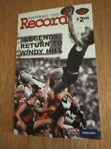 2007 Aug 19 Legends Return To Windy Hill Essendon Legends Football Record