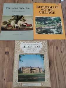 Vintage Beds & Bucks Leaflets Ascott House; Bekonscot Model Village; Luton Hoo