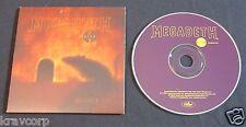 MEGADETH 'RISK' 1999 ADVANCE CD