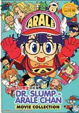 DVD Anime DR. SLUMP - Arale Chan IQ 博士 Movie Collection Boxset All Region