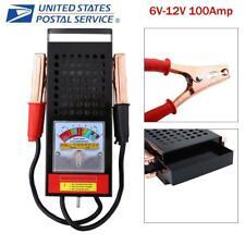 6V-12V Car Van Battery Tester Load Drop Charging System Analyzer Checker Black