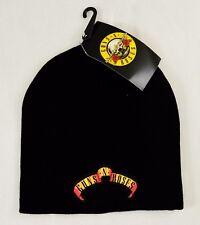 Official Music Merch Guns n Roses Logo Beanie Hat/Cap BNWT Excellent Quality