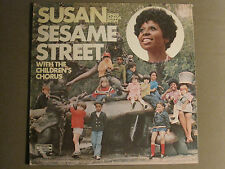 SUSAN SINGS SONGS FROM SESAME STREET WITH THE CHILDREN'S CHORUS LP '70 RARE VG+