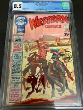 SUPER DC GIANT #15 * CGC 8.5 * (DC, 1970) KUBERT COVER!  WHITE PAGES! S-15
