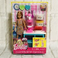 Barbie Sisters Stacie Doll Breakfast Set Dough and Waffle Maker Dream house