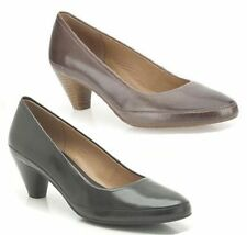 Clarks Women's Block High Heel (3-4.5 in.) Court Shoes