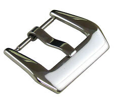 26mm Panatime Polished Pre-v Buckle - Spring Bar Attachment For Panerai