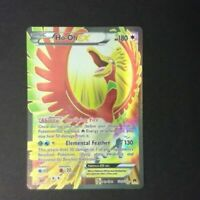 Pokemon Ho-OH EX 121/122 BREAKPOINT ULTRA RARE HOLO FULL ART - Mint Never played