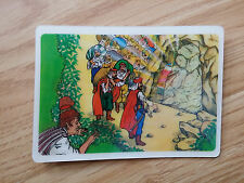 Vintage 1980s China laser calendar--Ali baba and the forty thieves