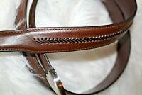 Nocona Men's 44 Brown Leather belt