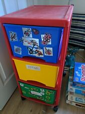Set Of Plastic Drawers (Kids Toys)