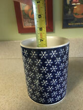 Boleslaweic  Snowflake Container Hand Made in Poland EUC