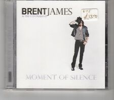 (HK501) Brent James & The Contraband, Moment Of Silence - CD