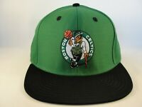 Boston Celtics NBA Adidas Snapback Hat Cap Green Black
