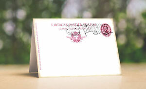 ITALY ITALIAN POSTCARD TENT STYLE WEDDING PLACE CARDS or TABLE CARDS #649
