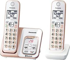 Panasonic - Kx-Tgd562G Link2Cell Dect 6.0 Expandable Cordless Phone Rose Gold