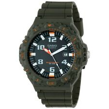 Casio MRWS300H-3B Men's Green Resin TOUGH SOLAR 100M Analog Diver's Watch NEW