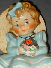 1970s Goebel Charlot BYJ 12 Sitting Pretty Redhead Girl Figurine TMK 5 Bee Stamp