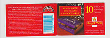 GB 1998  STAMP BOOKLET CHOCOLATE  KX11    10 X 1ST CLASS    as issued Mint