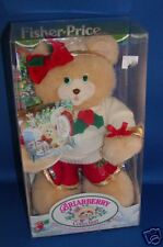Fisher Price Briarberry BerryNicole Nicole Christmas bear 75049 new