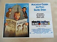 HOME ALONE 2 LOST IN NEW YORK ORIGINAL CINEMA QUAD POSTER 1992 Macaulay Culkin