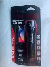 Tzumi Pocket Charger Weather Resistant Led Flashlight & Portable Device Charger