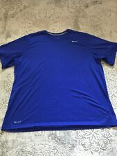 Nike Dri Fit Xl Blue Shirt