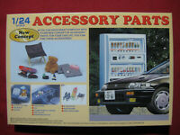 Accessory Parts Set Plastic Model Car Kit Garage Pack 1/24 Fujimi Japan