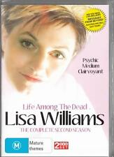 LISA WILLIAMS LIFE AMONG THE DEAD SEASON 2 - NEW & SEALED R4 DVD FREE LOCAL POST