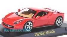 1:43 _ FERRARI 458 ITALIA _ (049) + COPERCHIO BOX RIGIDO