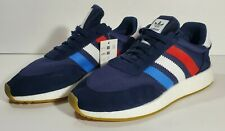 Adidas I-5923 Iniki Boost 11.5 Mens Navy with Red White Blue BD7814 New No Box