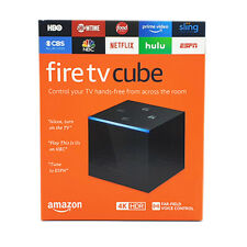 NEW Amazon Fire TV Cube HD Streaming Media Player 4K Ultra - Black 2019