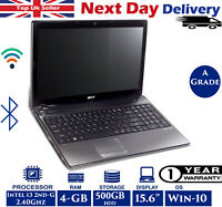 Acer TravelMate 5760 15.6-inch Laptop Intel i3 2nd-Gen 2.4Ghz 4GB RAM 500GB HDD