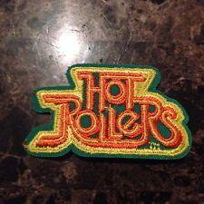 Vintage Roller Derby Roller Skating Hot Rollers Gym Bag Patch Iron or Sew on NOS
