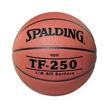 Spalding TF-250 PU Composite Leather Basketball [Size 5] + Free Aus Delivery