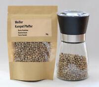 50g Weißer Kampot Pfeffer -  Original, handverlesen, zertifiziert - White Pepper