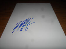 WOLFGANG VAN HALEN SIGNED/AUTOGRAPHED 8X10 WHITE SHEET
