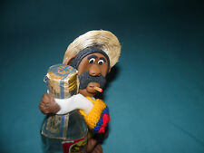 1990s Cold porcelain aguardiente campesino Colombia folk art souvenir figurine