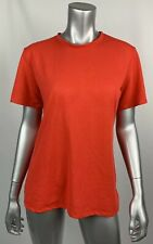 Under Armour Womens T-shirt Medium Red Crew Neck Short Sleeve Stretch Athletic