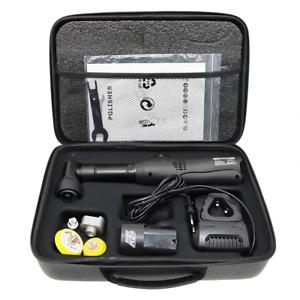 Mini Lucidatrice Su Batteria - Kit 2 Platorelli 38 E 50 MM E 2 Batterie