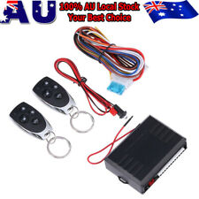 Auto Car Remote Control Keyless Entry Central Door Lock Locking Kit System & key