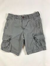 Hollister Cargo Shorts Mens Size 28 Gray Used Great Condition