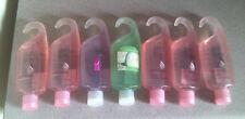 8 Lot of Avon Skin So Soft Shower Gel Soft & Sensual-Signature Silk-Cucumber +