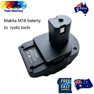 Battery Convert Adapter For Makita 18V BL1840 BL1830 battery to Ryobi 18V tools