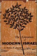 The Literature Of Modern Israel(Hardback Book)Reuben Wallenrod-Ram's Ho-Good