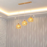 Crystal Cage Lampenschirm Deckenschirme Pendelleuchte Cage Bulb Cage Gold