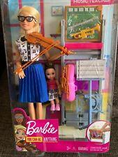Mattel - Barbie - Career Playset Music Teacher Doll & Playset [New Toys] Paper